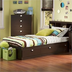South Shore Cakao Kids   Storage Mates Bed Frame Only