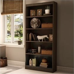 Axess 5 Shelf Bookcase