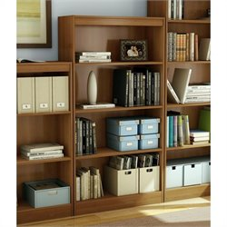 South Shore 4 Shelf Bookcase in Morgan Cherry