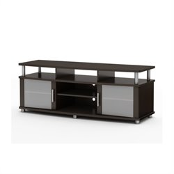 South Shore Contemporary TV Stand in Chocolate