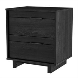 South Shore Fynn Nightstand in Gray Oak