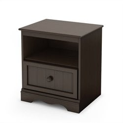 South Shore Handover Nightstand Espresso