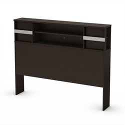South Shore Back Bay Full Bookcase Headboard