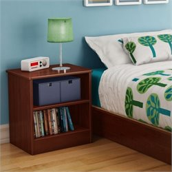 South Shore Libra Night Stand in Royal Cherry