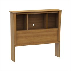 South Shore Jumper Collection Twin Bookcase Headboard Harvest Maple