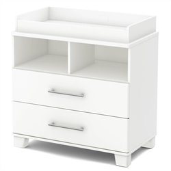 South Shore Cuddly Changing Table in Pure White