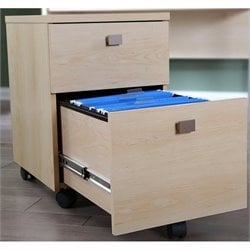 Interface 2 Drawer Mobile Filing Cabinet