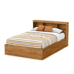 South Shore Little Treasures Full Bookcase Headboard in Pine