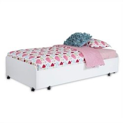 South Shore Mobby   Trundle Bed on Casters