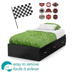 Lazer Luka Twin Mates Bed (39
