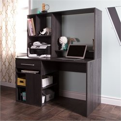 South Shore Annexe Home Office Computer Desk in Gray Oak