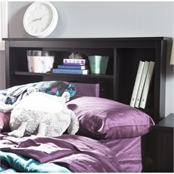 Fusion Wood Twin Bookcase Headboard