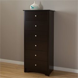 Vito 6 Drawer Wood Chest