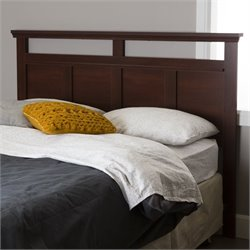 South Shore Versa Full Queen Headboard in Royal Cherry