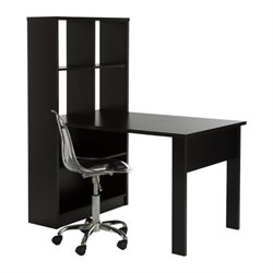 South Shore Annexe Computer Desk with Chair