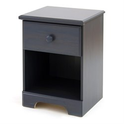South Shore Summer Breeze Nightstand in Antique Blue