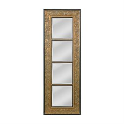 Mirror Masters Skyler Decorative Mirror in Rustic Gold