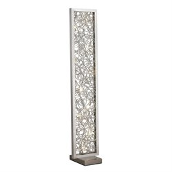Dimond Lighting Basinger LED Floor Lamp in Silver
