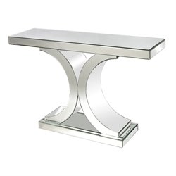 Console Table in Clear