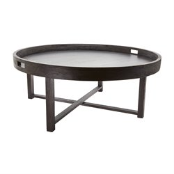 Dimond Home Round Coffee Table in Brown