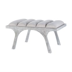 Lawrence Living Room Benches in Restoration Gray