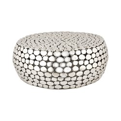 Dimond Home Accent Table in Nickel