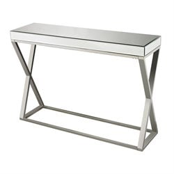 Sterling Klein Console Table in Chrome
