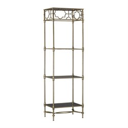 Sterling 3 Shelf Bookcase in Soft Gold