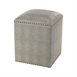 Sterling Beaufort Vanity Bench in Gray
