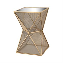 Sterling Magnoux Accent Table in Gold