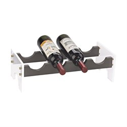 Sterling Krauss Wine Rack in Gray and Clear