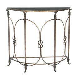 Sterling Bordeaux Console Table in Black