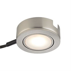 Tuxedo Swivel LED Under Cabinet Lighting in Satin Nickel