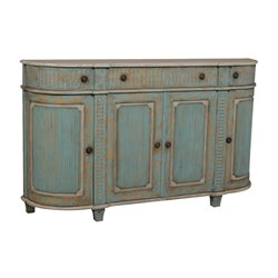 GuildMaster Demilune Buffet in Green