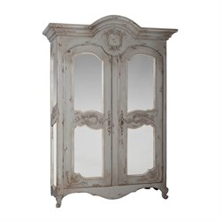 GuildMaster Pradana Armoire in Gray