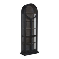 GuildMaster Curio Cabinet in Gray