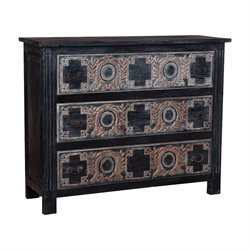 GuildMaster Morroccan Accent Chest in Black