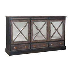 GuildMaster Belle Grove Buffet in Gray
