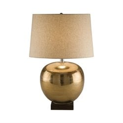 8000 Metal Table Lamp in Brass