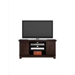 TV Stand in Dark