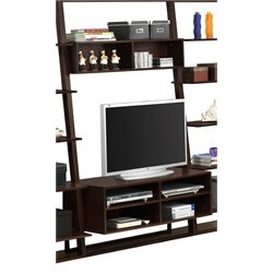 Wall Entertainment Center in Cappuccino