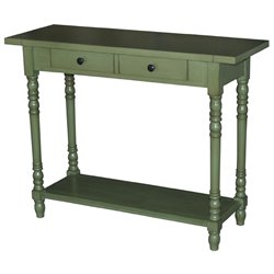 Console Table in Green