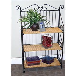 3 Tier Baker's Rack in Black