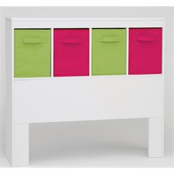 4D Concepts Zany Twin Kids Storage Headboard