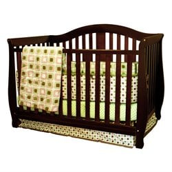AFG Baby Furniture Athena  Desiree 4 in 1 Convertible Crib