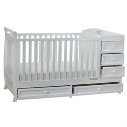 AFG Baby Furniture Athena  Daphne 2 in 1 Convertible Crib