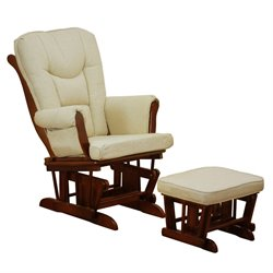 AFG Baby Furniture Athena  Sleigh Glider and Ottoman