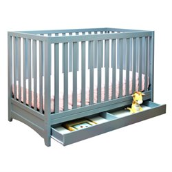 AFG Baby Furniture Athena  Mila 3 in 1 Convertible Crib