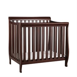 Athena Alice Mini Crib with Mattress