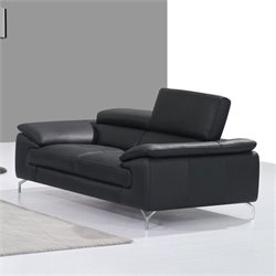 Catania Leather Loveseat